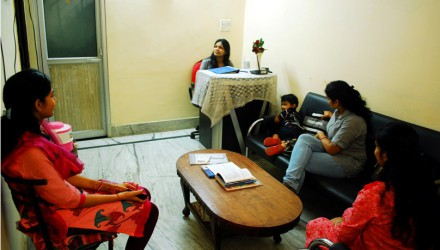 Inside Srijan Clinic